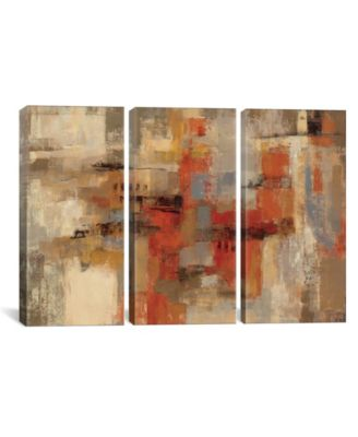 "City Wall by Silvia Vassileva Gallery-Wrapped Canvas Print - 40"" x 60"" x 1.5"""