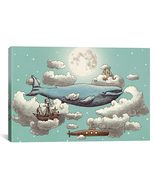 """iCanvas Ocean Meets Sky #2 by Terry Fan Gallery-Wrapped Canvas Print - 12"""" x 18"""" x 0.75"""""""