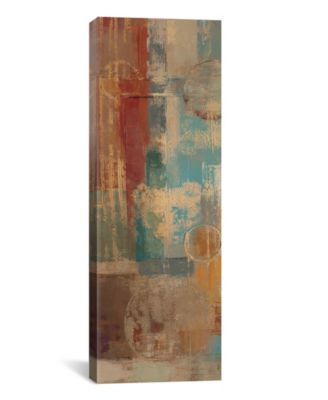 "Oriental Trip Panel I by Silvia Vassileva Gallery-Wrapped Canvas Print - 48"" x 16"" x 0.75"""