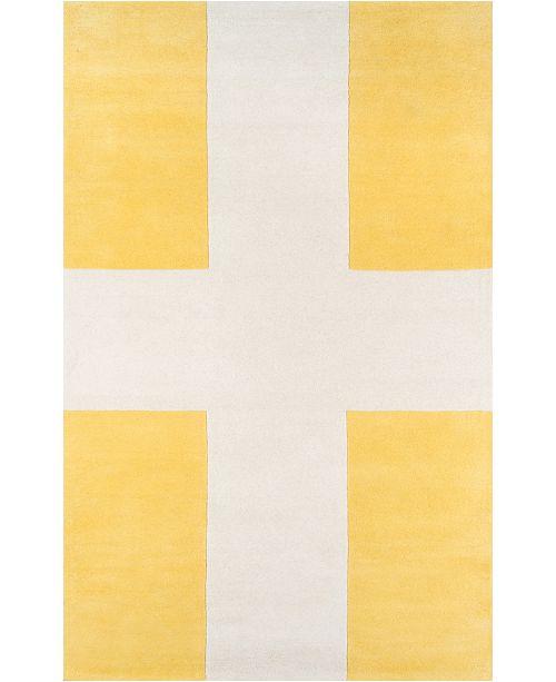 Novogratz Collection Novogratz Delmar Del-7 Yellow 9' x 12' Area Rug