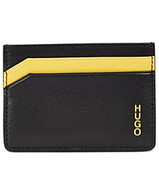 HUGO Men's Subway Leather Card Case