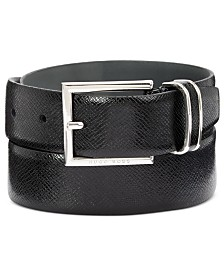 HUGO Men's Canzio-S Leather Belt