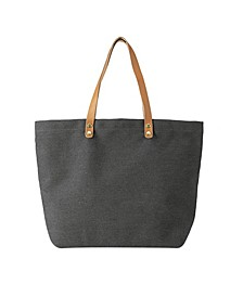 Personalized Washed Canvas Tote