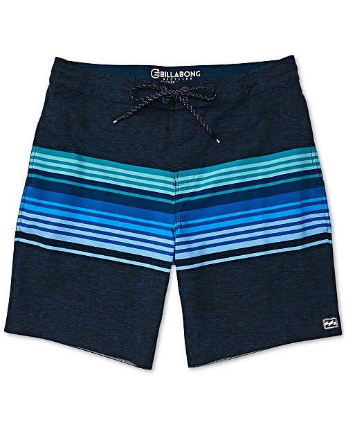 "Billabong Men's Spinner Striped 19"" Swim Trunks"