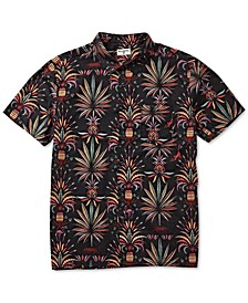 Men's Sundays Regular-Fit Tropical-Print Shirt