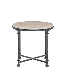 Bernhardt Galesbury Round Metal End Table