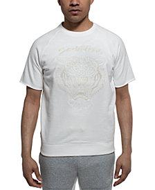 Sean John Men's Embroidered Short-Sleeve Sweatshirt