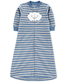 Carter's Baby Boys Striped Microfleece Sleep Bag
