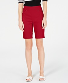 I.N.C. Petite Bermuda Shorts, Created for Macy's
