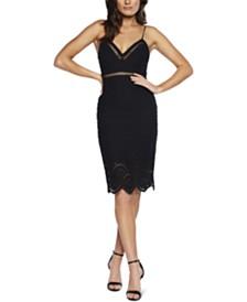 Bardot Eyelet-Lace Dress