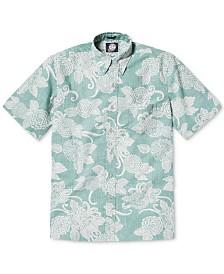 Reyn Spooner Men's Opti Mums Classic-Fit Wrinkle-Free Floral-Print Shirt