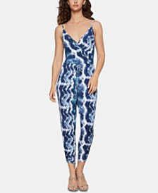 BCBGeneration Tie-Dyed Jumpsuit