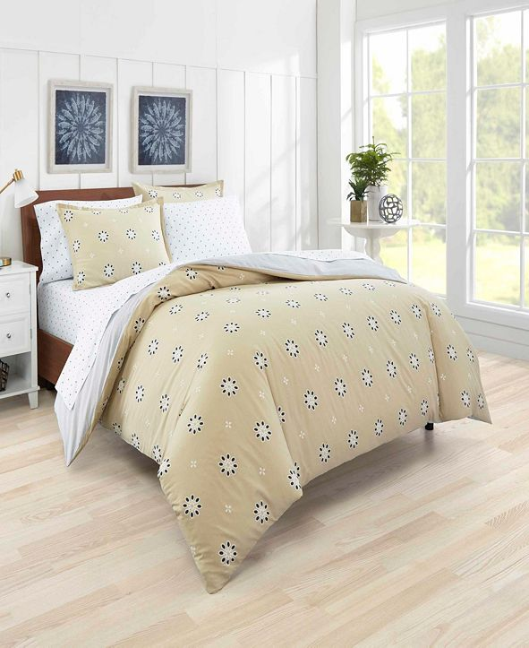 Poppy & Fritz Darcy Eyelet Duvet Cover Set, King