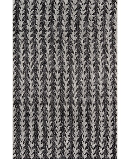 "Novogratz Collection Novogratz Villa Vi-02 Charcoal 3'11"" x 5'7"" Area Rug"