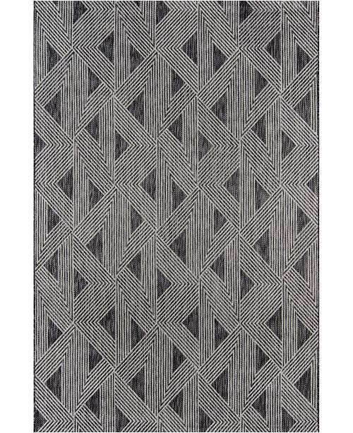 "Novogratz Collection Novogratz Villa Vi-06 Charcoal 6'7"" x 9'6"" Area Rug"