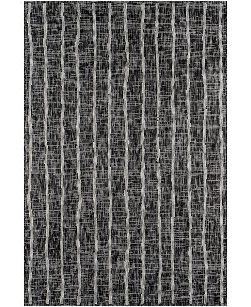 "Novogratz Collection Novogratz Villa Vi-03 Charcoal 9'3"" x 12'6"" Area Rug"