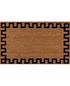 "Erin Gates Park Par-4 Greek Key Natural 1'6"" x 2'6"" Area Rug"