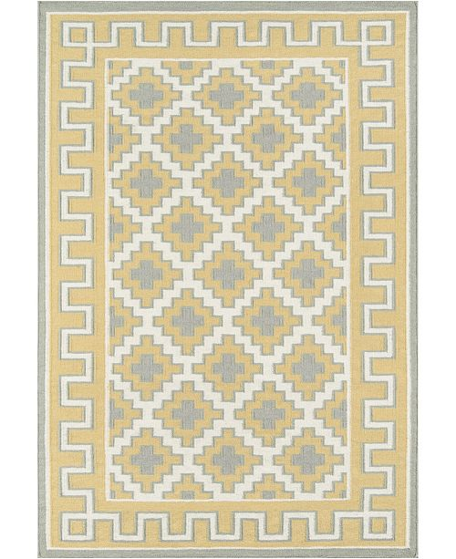 "Erin Gates Thompson Tho-4 Brookline Gold 7'6"" x 9'6"" Area Rug"