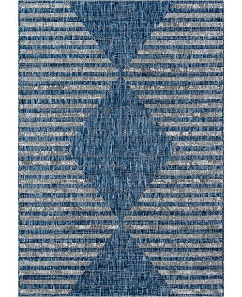 """Novogratz Collection Novogratz Villa Vi-07 Blue 9'3"""" x 12'6"""" Area Rug"""