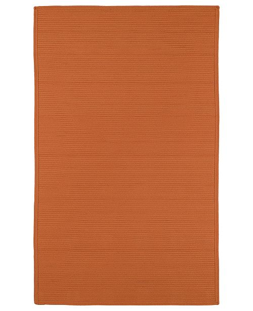 Kaleen Bikini 3020-89 Orange 5' x 8' Area Rug