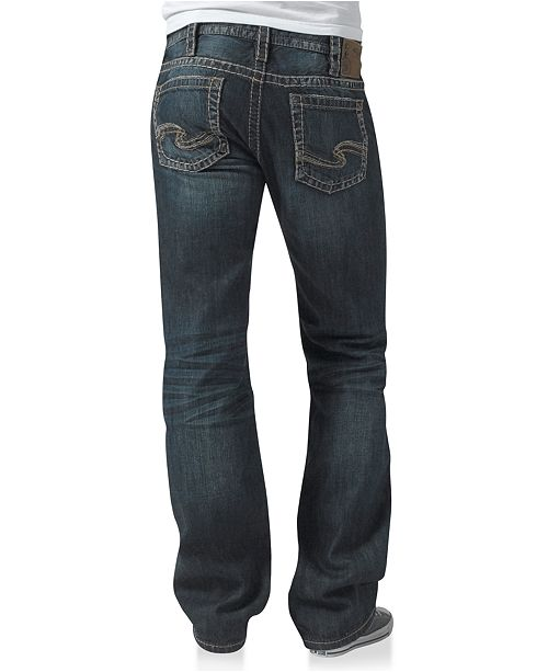 22f102ed Men's Nash Heritage Straight Jean; Silver Jeans Co. Men's Nash Heritage  Straight ...