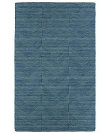 Imprints Modern IPM05-78 Turquoise 8' x 11' Area Rug
