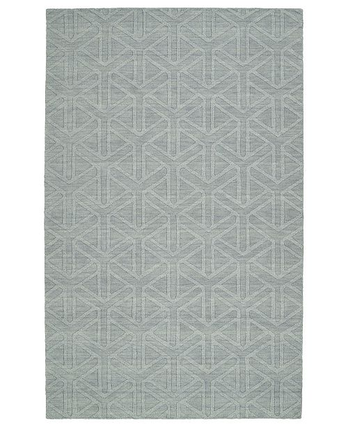 Kaleen Imprints Modern IPM08-79 Light Blue 8' x 11' Area Rug