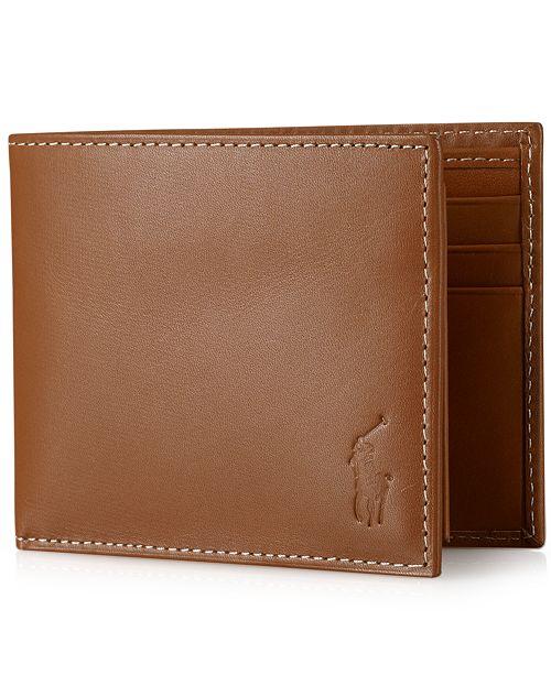 Ralph Lauren Mens Beach Towel: Polo Ralph Lauren Men's Wallet, Burnished Passcase
