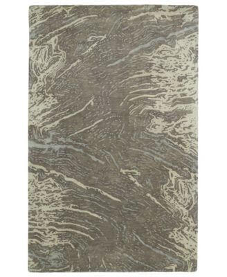 Brushstrokes BRS01-49 Brown 8' x 11' Area Rug