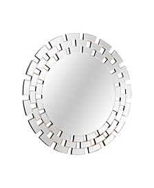 Abbyson Living Creo Round Wall Mirror