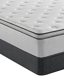 """Beautyrest BR800 13.5"""" Plush Pillow Top Mattress Set- Twin"""