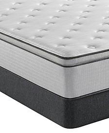 """Beautyrest BR800 13.5"""" Plush Pillow Top Mattress Set- Full"""