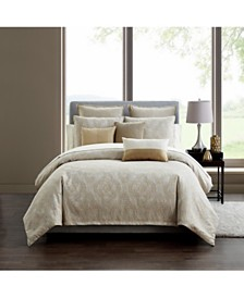 Waterford Samara 3Pc. Kg/Ck Duvet Set