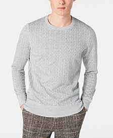 Men's Slim-Fit Herringbone Sweater