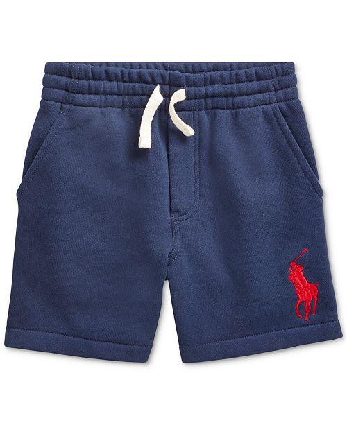 Polo Ralph Lauren Little Boys Fleece Shorts, Created For Macy's