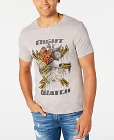 GUESS Men's Night Watch Graphic T-Shirt