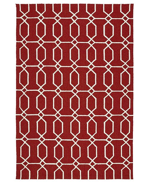 Kaleen Escape ESC10-25 Red 8' x 10' Area Rug