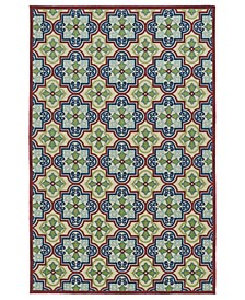 "A Breath of Fresh Air FSR104-86 Multi 2'1"" x 4' Area Rug"