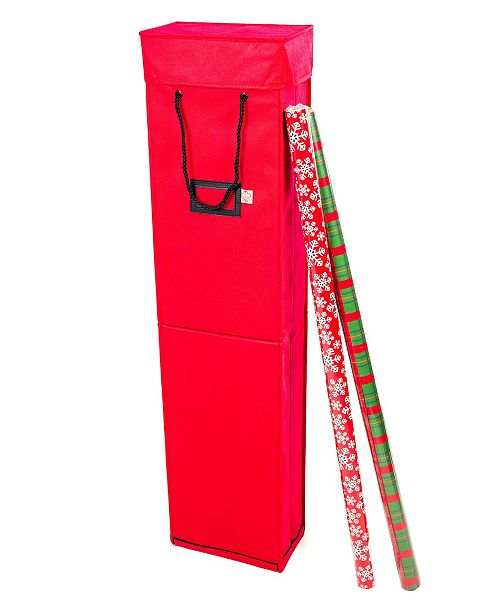 Santa's Bag Wrapping Paper Storage Box