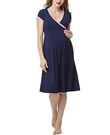 Kimi & Kai Jenny Maternity Nursing Night Gown
