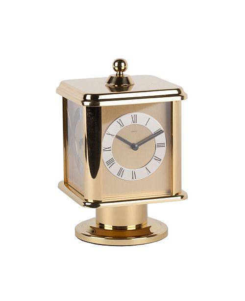 Stilnovo Four Sided Rotating Brass Carriage Clock