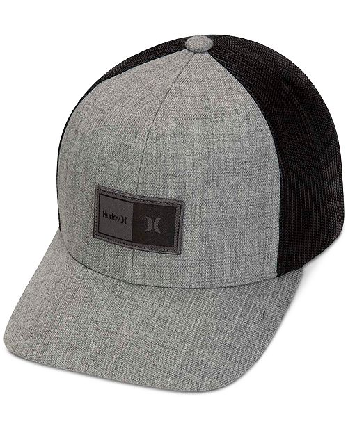 Hurley Men's The Regular Hat Logo Trucker Cap
