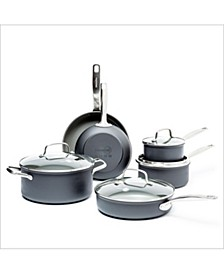 Chatham 10-Pc. Ceramic Non-Stick Cookware Set
