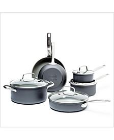 Chatham 10-Pc. Ceramic Non-Stick Cookware Set