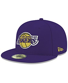 Los Angeles Lakers Basic 59FIFTY Fitted Cap