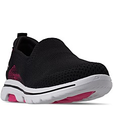 Women's GOWalk 5 Prized Walking Sneakers from Finish Line
