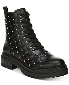 Goodwin Studded Combat Boots