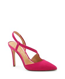 Jessica Simpson Paselle Pointy Toe Asymmetric Pumps