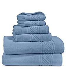 Spa Cotton 6-Pc. Towel Set, Created for Macy's