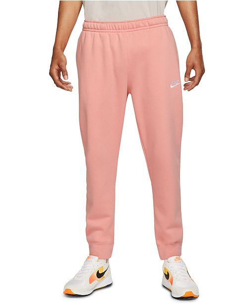 nike fleece joggers mens